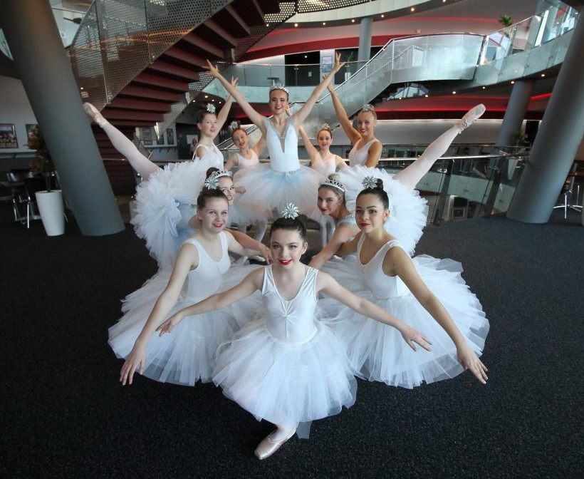 Senior Ballet Class Performance at The Helix November 2018